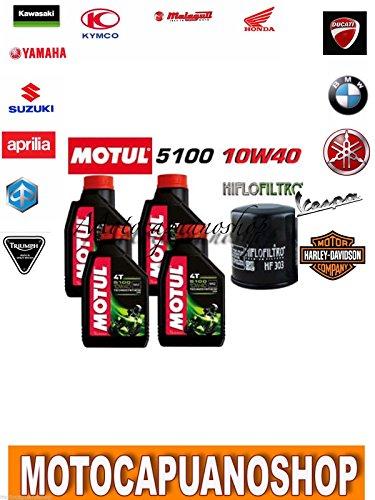 Motorolie 5100 10W40 oliefilter SUZUKI DL1000 DL 1000 V-STROM 2016