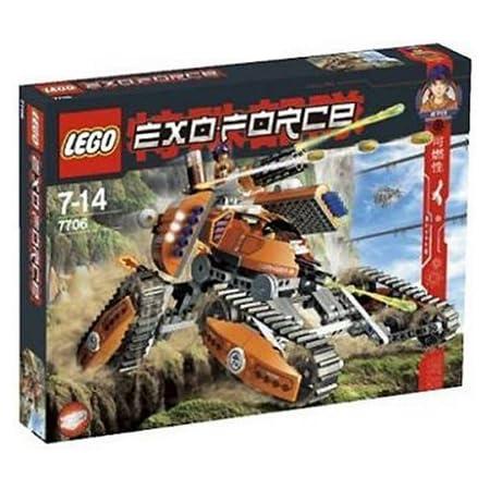 レゴ (LEGO) エクソ・フォース モバイル・ディフェンス・タンク 7706