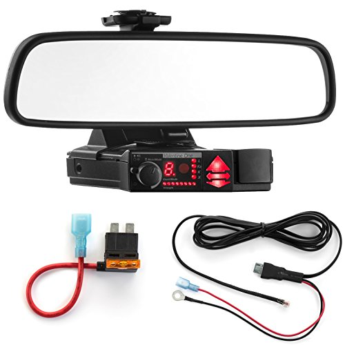 Best Price Radar Mount Mirror Mount Bracket + Direct Wire Power Cord + ATO Fuse Tap for Valentine V1...