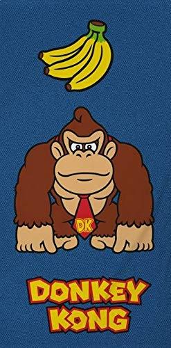 Donkey Kong - Toalla de baño (140 x 70 cm)