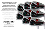 Big Tall Extra Custom Made Long XL Taylor Fit XXL Irons Golf Clubs Power Back T11 +2' Iron Set: 4, 5, 6, 7, 8, 9, Pw + Free Sw (Matching Sand Wedge)