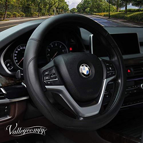 White Pink KAFEEK Plush Steering Wheel Cover for Winter Warm,Universal 15 inch