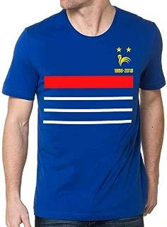 Tee Shirt France Champion du Monde 1998-2018 ⭐⭐
