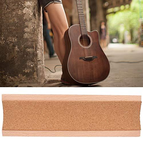 100% nuevo, 30 x 9 x 2,2 cm, herramienta Luthier, reposacabezas para guitarra, para amantes de la música, para talleres de reparación de guitarras, para guitarras, bajos, ukelele,(Wood color)