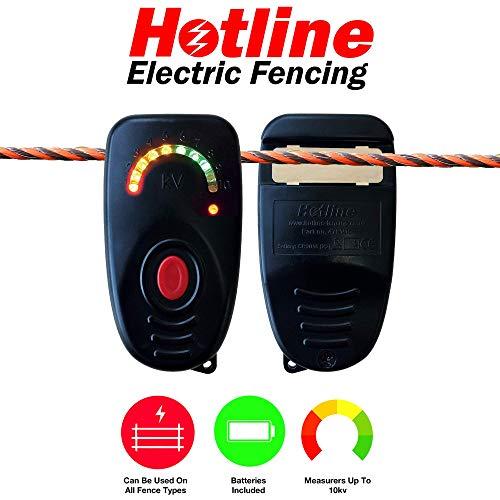 Hotline Electric Fencing Zaunleitungsprüfer für Elektrozaun, Spannungsprüfer für Elektrozaun.