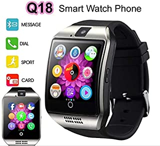 Smart Watch with Camera, Ezone Q18 Bluetooth Smartwatch with Sim Card Slot Fitness..