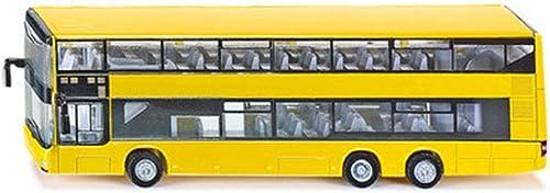 HBWJSH Alliage de Simulation Bus à Deux étages Bus Bus modèle de Jouet modèle de Voiture, la Taille  210X75X54MM
