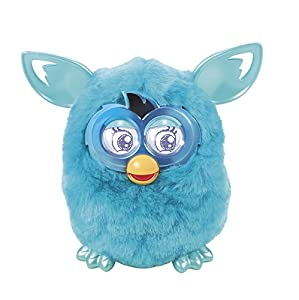 Furby Boom Plush Toy (Teal Pattern Edition) from Furby
