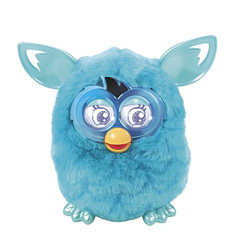 Furby Boom Plush Toy (Teal Pattern Edition)