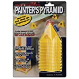 painting cones - Painter's Pyramid Stands, Yellow (KM1257)