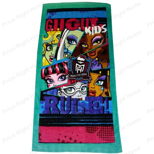 Monster High Ghoul Kids Rule Toalla