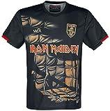 Iron Maiden Piece of Mind - Trikot Hombre Camiseta Multicolor XXL, 100% poliéster, Regular
