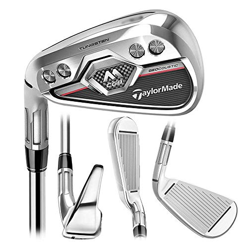 TaylorMade M-CGB Individual Iron - Steel Left Sand Wedge Steel Stiff Steel (Stock) -  N6327209