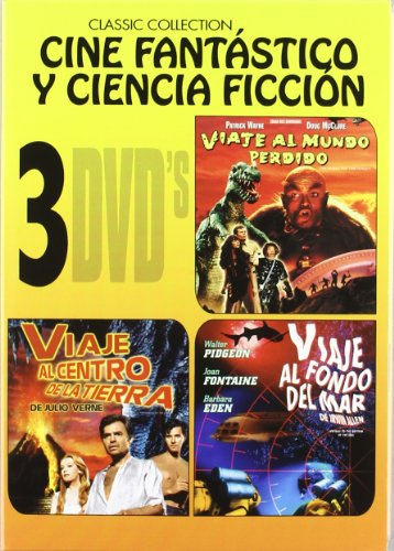 Pack: Viaje Al Mundo Perdido + Viaje Al Centro De La Tierra + Viaje Al Fondo Del Mar [DVD]
