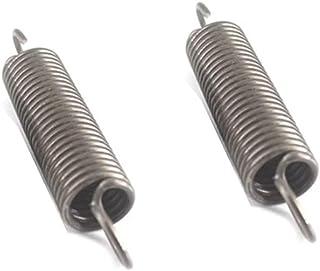 Zugfedern mit haken 1Pcs Size : 160mm S-Haken Zugfeder Coil Zugfeder Zugfeder Pullback Federdrahtdurchmesser 2,0 mm Au/ßendurchmesser 14mm