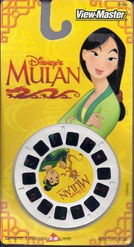 View Master Disney's Mulan 3D 3 Reel Set