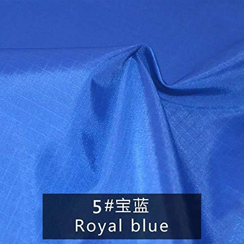 LLine PU polyester taft waterdicht gecoate stof voor het naaien van een luifel voor de luifel of een kampeertent voor buiten, 5,45x150cm 0,5 meter
