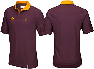 Arizona State Sun Devils NCAA Men's Sideline Climachill Performance Maroon Polo Shirt