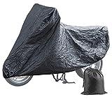 PEARL Roller Abdeckplane: Wasserabweisende E-Bike- & Motorrad-Vollgarage (S), 199 x 89 x 117 cm (Rollergarage)