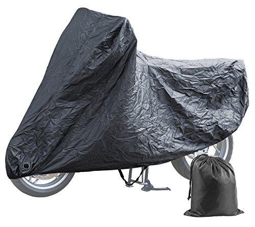 PEARL Roller Abdeckplane: Wasserabweisende Motorrad-Vollgarage (S) mit Tasche, 199 x 89 x 117 cm (Rollergarage)