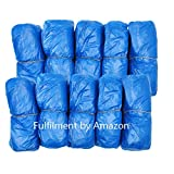 100 Pack Disposable Shoe Covers Boot 50 Pairs Waterproof Hygienic Foot Cover Shoes Protector for Rain