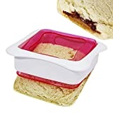 Affordable Sandwich Sealer And Decruster - HomeMade Uncrustables Maker (1, Sandwich Cutter)