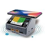 Walory Batterie de Lipo NiMH, HOTA D6 Dual Channel Chargeur Intelligent 2 * DC325W 15A pour Lipo NiMH Batterie Téléphone sans Fil de Charge