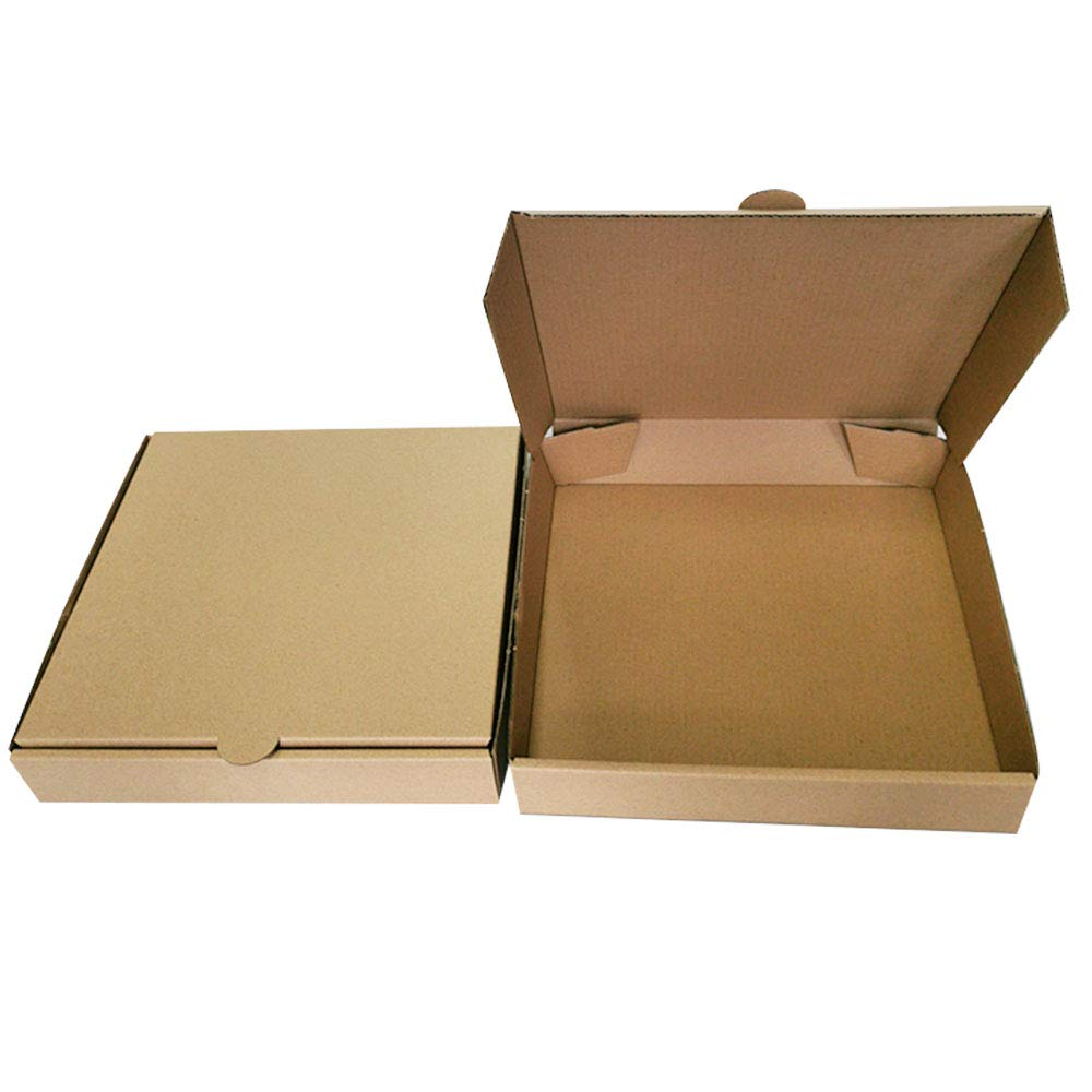10 inches Premium Kraft Max 66% OFF Max 86% OFF Corrugated Pizza Boxes Containe Take Out