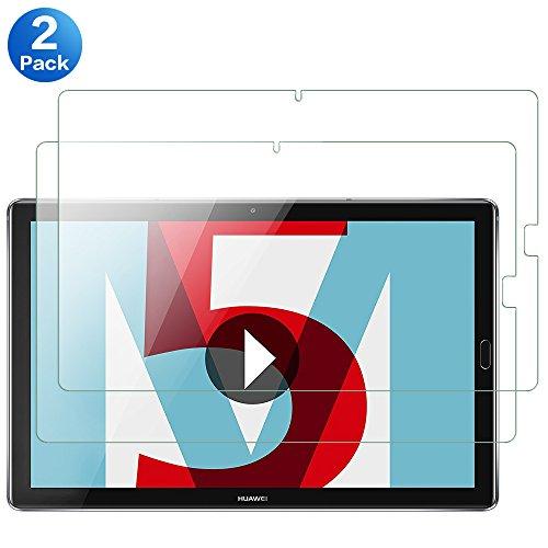 ANEWSIR Schutzfolie für Huawei MediaPad M5 10.8 / M5 Pro 10.8 Bildschirmschutzfolie, [2 Stück], Anti-Kratzen, Anti-Bläschen, Panzerfolie Schutzfolie Folie für MediaPad M5 10.8/M5 Pro 10.8