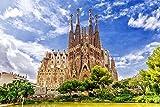 Barcelona Kirche Sagrada Familia XXL Wandbild Kunstdruck