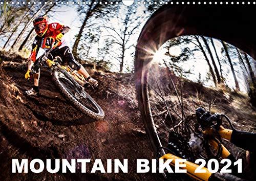 Mountain Bike 2021 by Stef. Candé (Wandkalender 2021 DIN A3 quer)