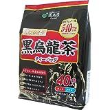 国太楼 豊かな濃く 黒烏龍茶 ティーバッグ (5g×40P)×2個