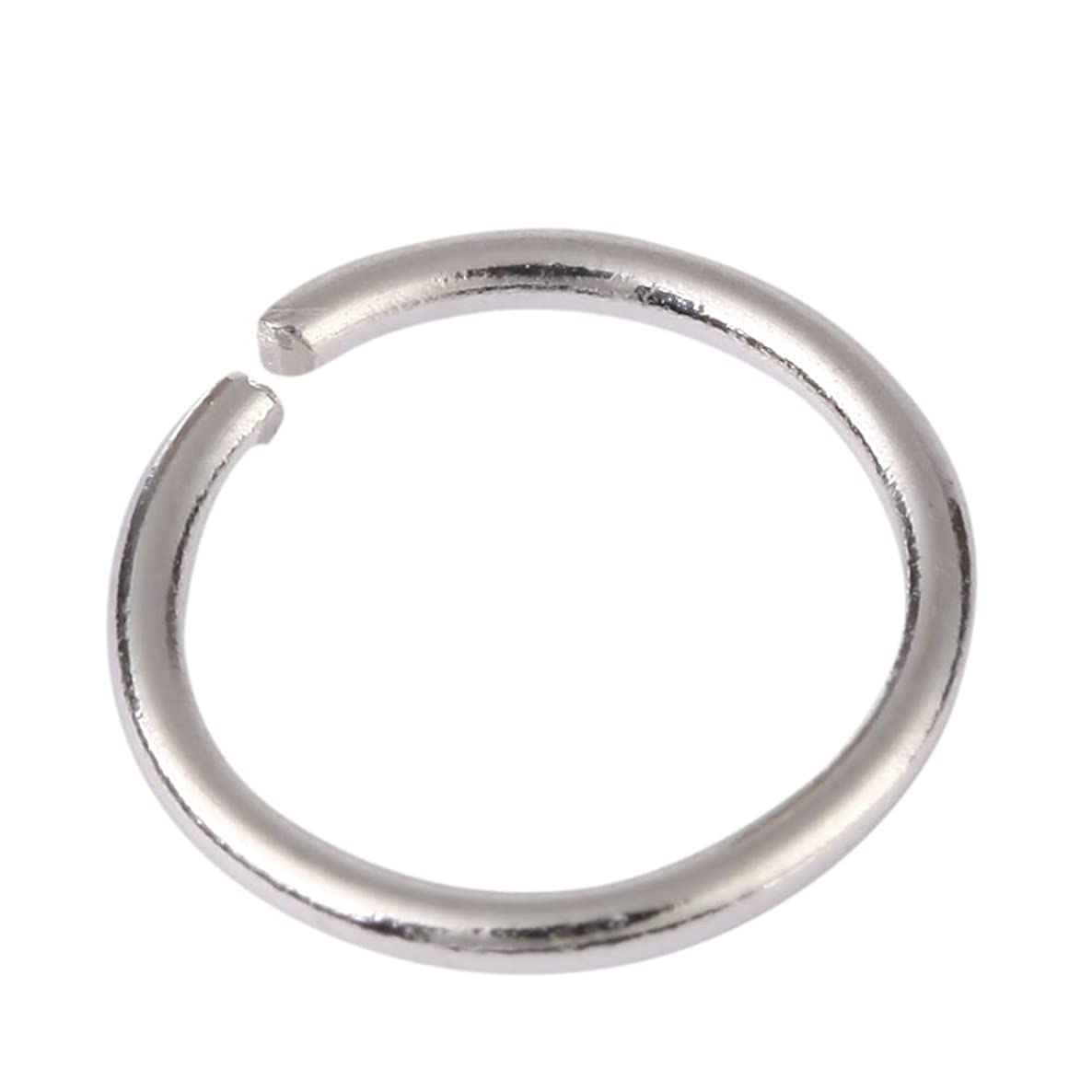 20pcs Genuine Sterling Silver Open Jump Rings 6mm Connector (Wire ~20GA or 0.8mm) for Jewelry Craft Making SS11