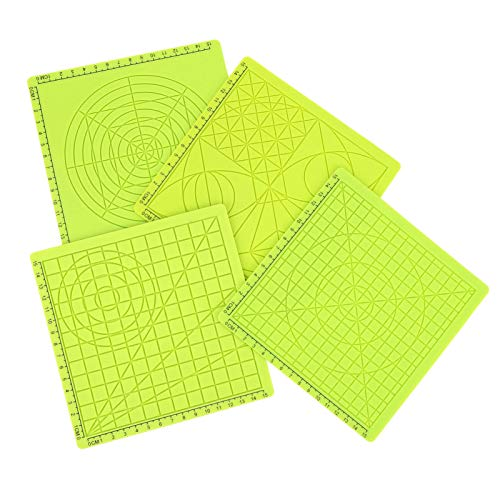 Reliable 4pcs/Set Printing Silicone Pad, 3D Printing Accessories, 3D Printing 3D Drawing Office Equipment for 3D Printer
