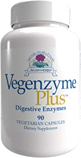 Ayush Herbs - Vegenzyme 90 vcaps [Health and Beauty]