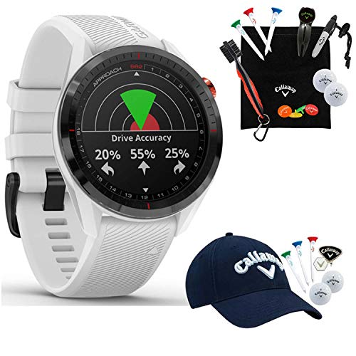 Why Choose Garmin Approach S62 GPS Golf Watch (Black Ceramic Bezel and White Silicone Band) with Cal...