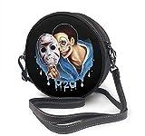 BAODANLA Bolso redondo mujer Round Crossbody Bag Best-H2O-Delirious Handbag Purse Single Shoulder Bag Sling Bag