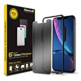 GOBUKEE for iPhone 11/XR(6.1') [PRIMIRROR] Tempered Glass Screen Protector [3in1] Privacy+Mirror+Anti-Shock/Easy Installation with Applicator/9H Hardness/Anti-Spy