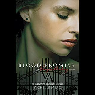 Blood Promise audiobook cover art