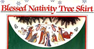 Cross Stitch - Blessed Nativity - Tree Skirt Kit by Karen Avery (1989)