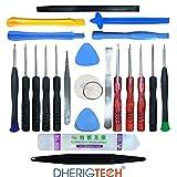 Kit Complet d'outils 22 en 1 Compatible avec Réparation de Smartphones,Tablettes pour Tablette Tactile 4G LTE - LNMBBS W116 - Android 8.1-10.1