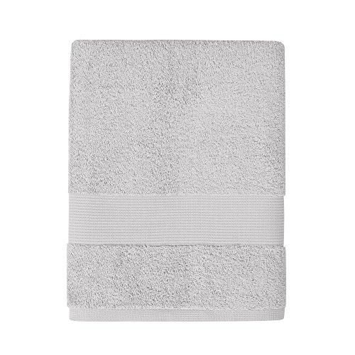 Jalla Serviette de Toilette, 100% Coton, Grigio, 50x100 cm