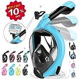 HENGBIRD Tauchmaske für Kinder und Erwachsene Müheloses Atmen mit Aktivgopro Halter 180°...