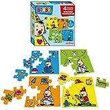 Studio 100 MEBU00003550 Puzzle - Rompecabezas (Rompecabezas de Figuras, Niños, Niño/niña, 1 año(s), 3 año(s), De plástico)