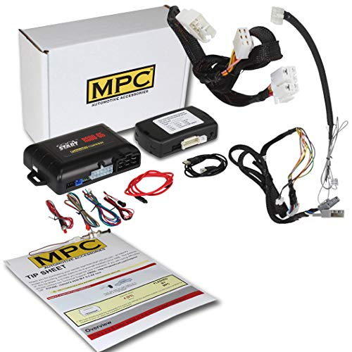 MPC Factory Remote Activated Remote Start Kit for 2013-2017 Honda Accord Key-to-Start ONLY - T-Harness - FlashLink Updater -Firmware Preloaded