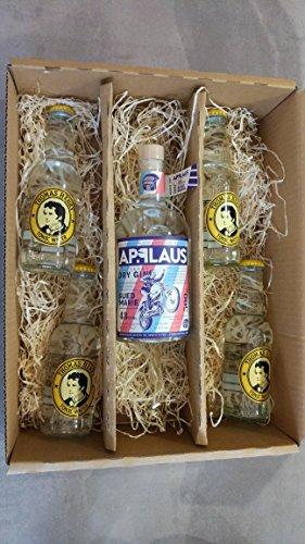 Applaus Südmarie Gin Geschenkset/Gin Tonic Set inkl. 4x Thomas Henry Tonic