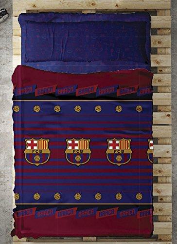 Tejidos Reina Balon Juego Sabanas, Algodón y Poliéster, Multicolor, 90x200 cm