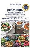 DIMAGRIRE Gruppo sanguigno A: Velocemente e senza dieta.  L'alternativa alla Chetogenica per eliminare la pancia. Contiene 3 libri: Dieta Gruppo A + Dieta per Dimagrire gruppo A + Cistite