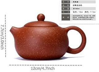 2500 Silk Art Yixing Handmade Teapot Precious And Rare Dragon Blood Sand Xi Shi Teapot Kung Fu Tea Set (LXS-CH)