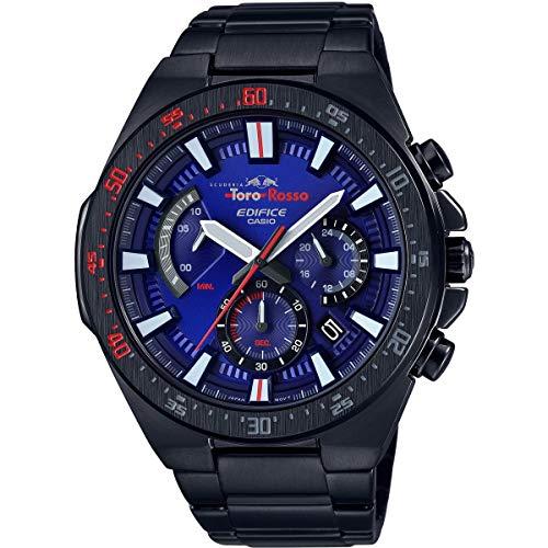 Casio Reloj Analógico para Hombre de Cuarzo con Correa en Acero Inoxidable EFR-563TR-2AER
